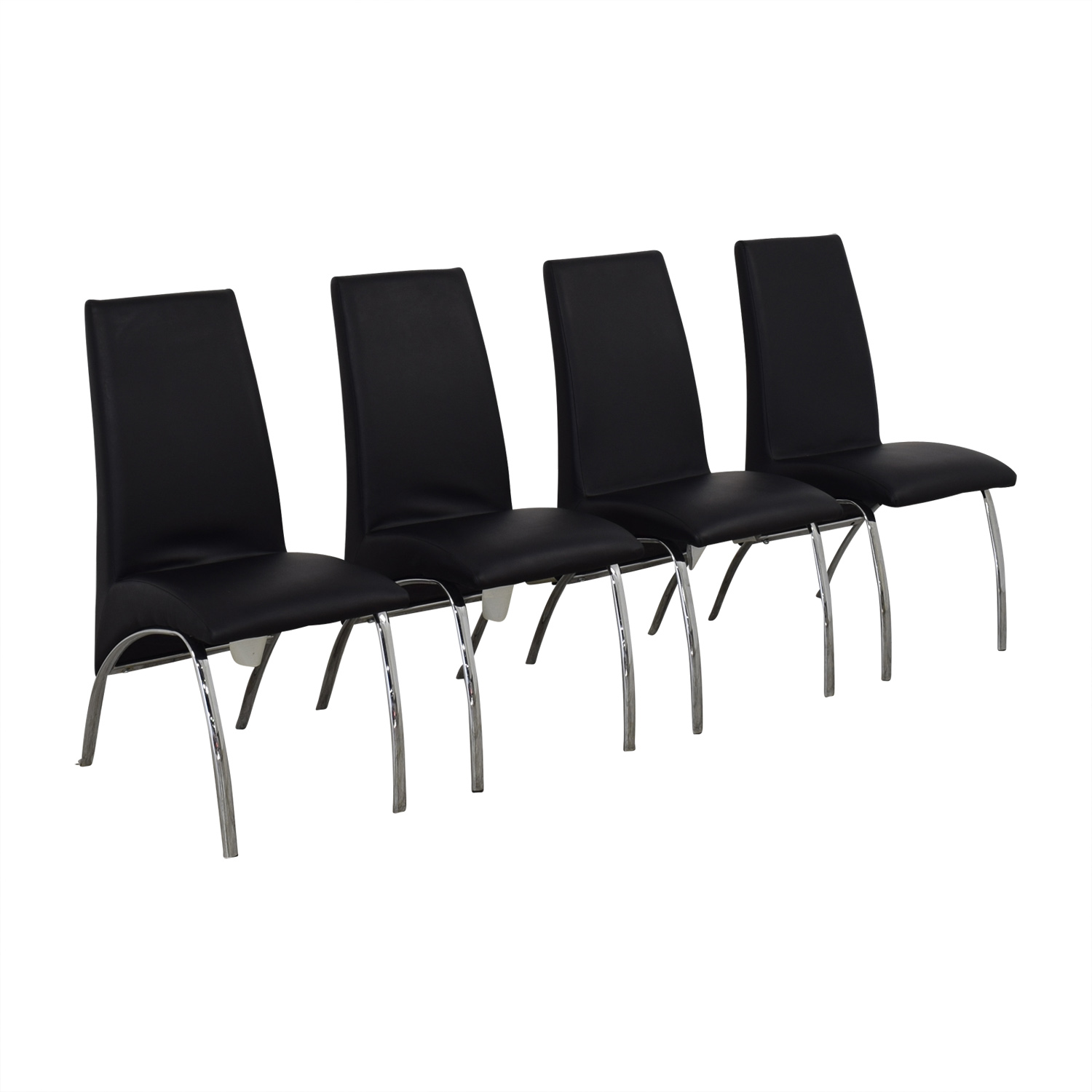 Coaster Fine Furniture Coaster Ophelia Leather Dining Chairs Dining Chairs