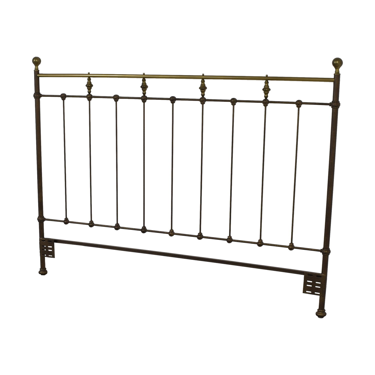 Vintage Slat King Headboard discount
