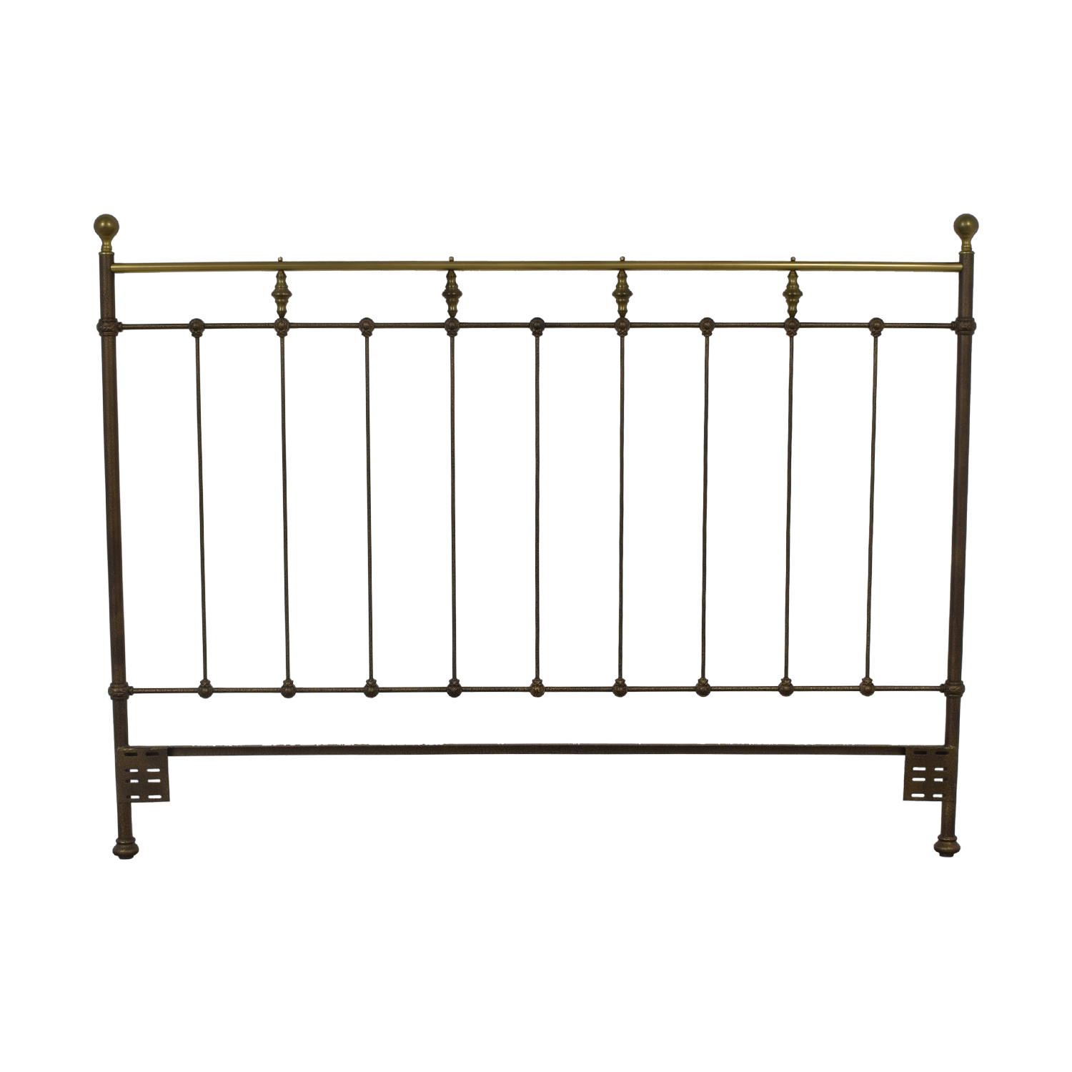 Vintage Slat King Headboard second hand