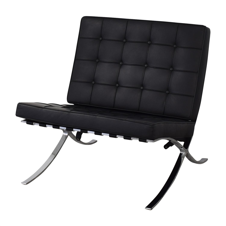 Custom Barcelona Chair Replica Accent Chairs