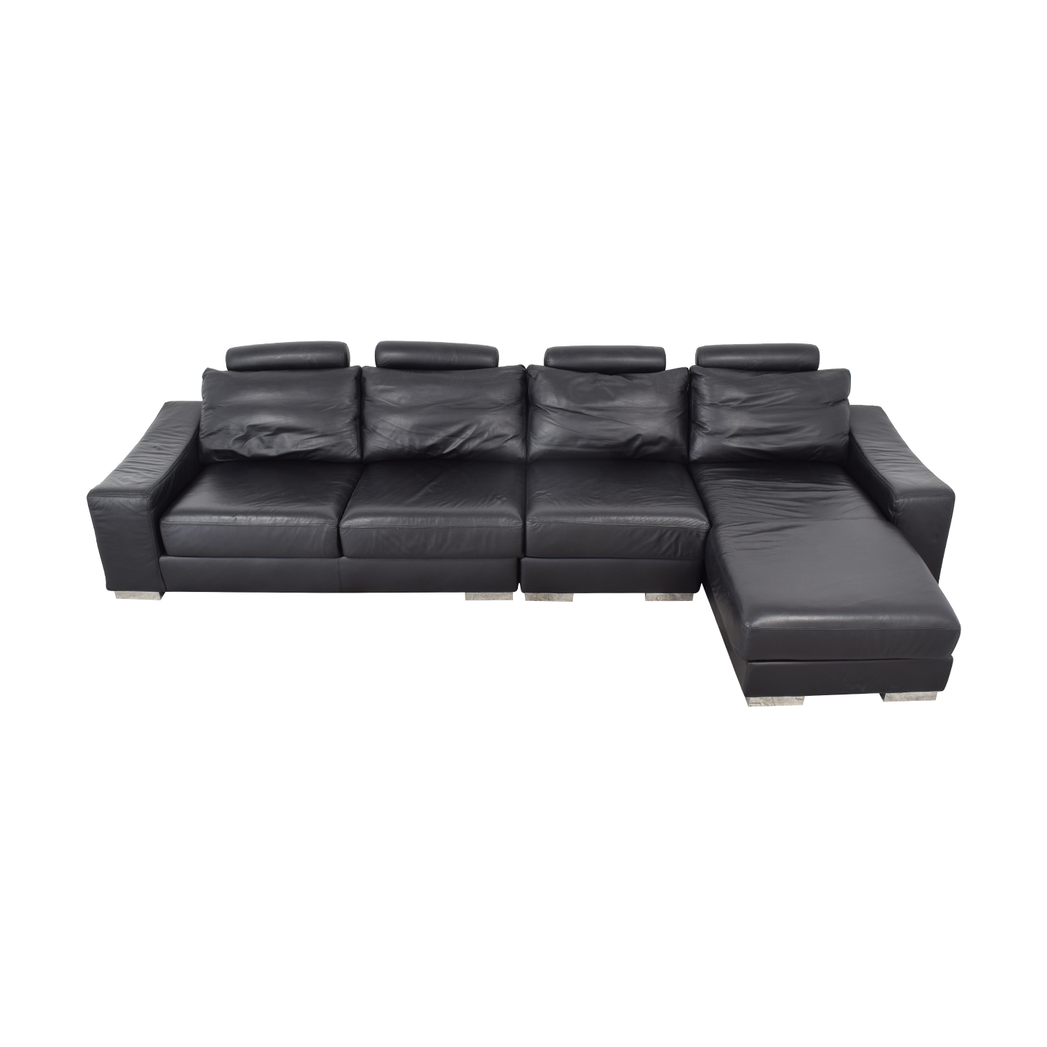 Lind Lind Sectional Sofa with Chaise nyc