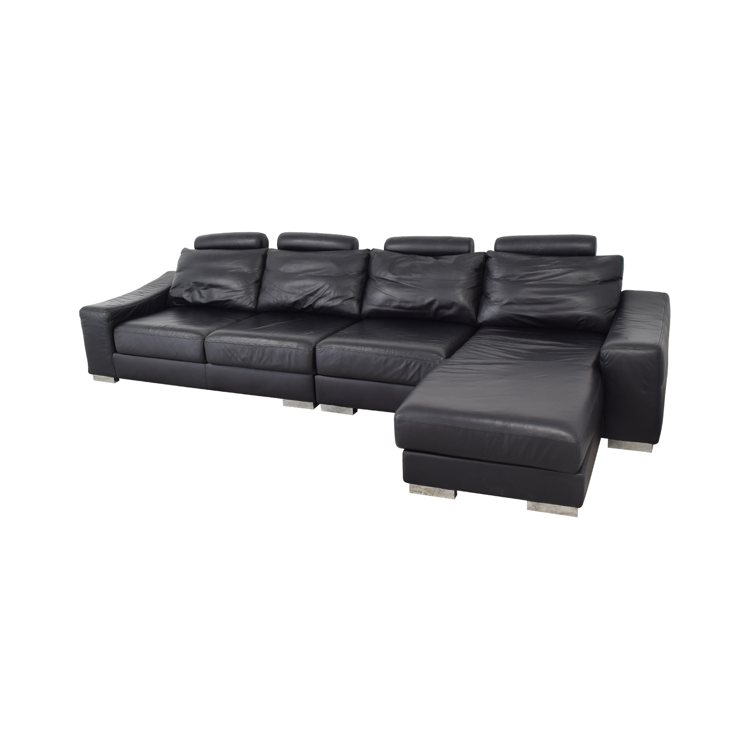 Lind Lind Sectional Sofa with Chaise dimensions