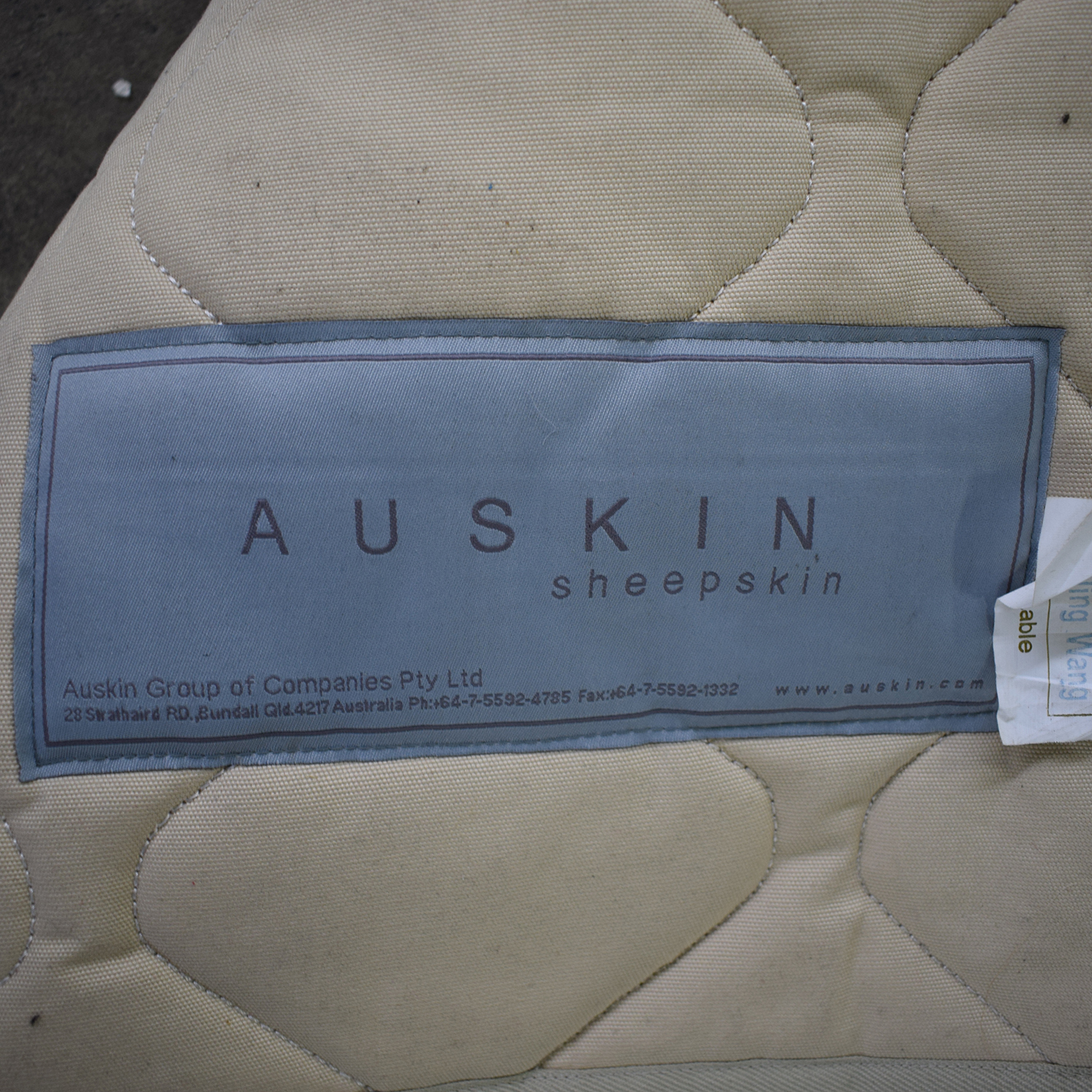Auskin Auskin Patterned Area Rug used