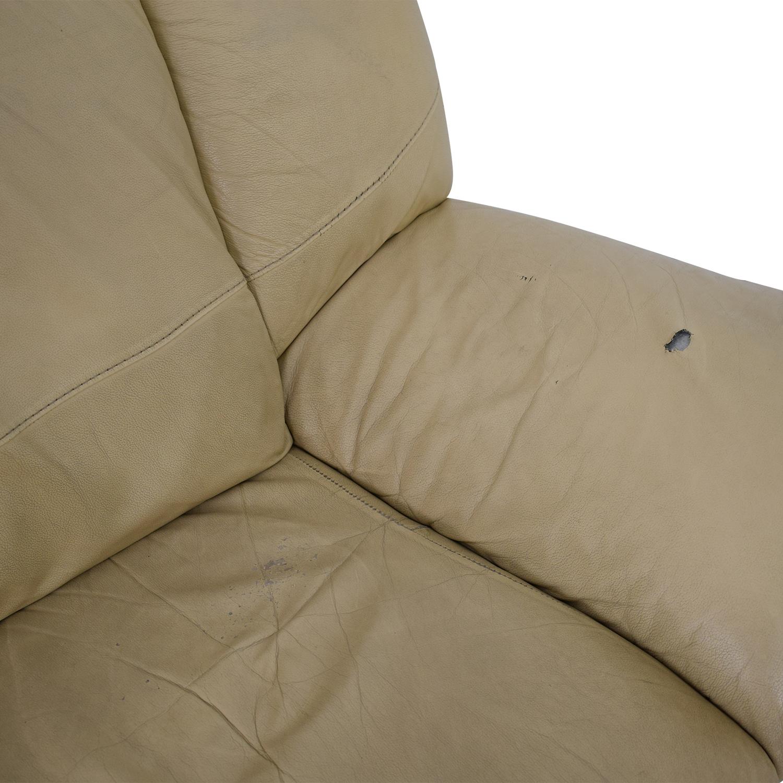 buy Modern Two Cushion Sofa
