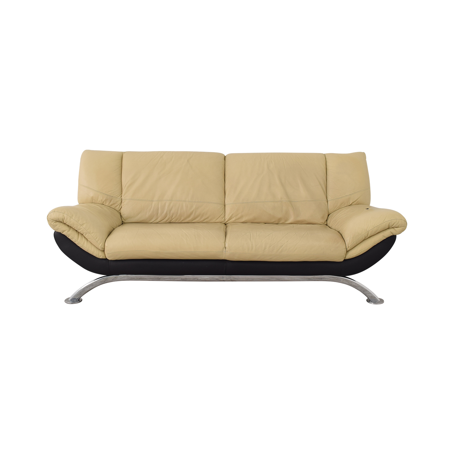 Modern Two Cushion Sofa nyc