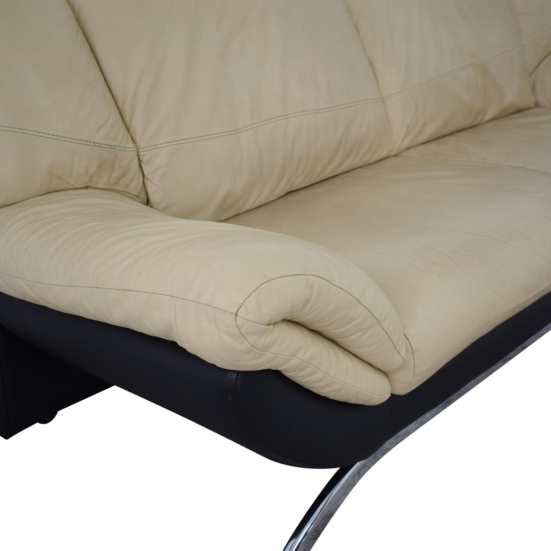 shop Modern Two Cushion Sofa