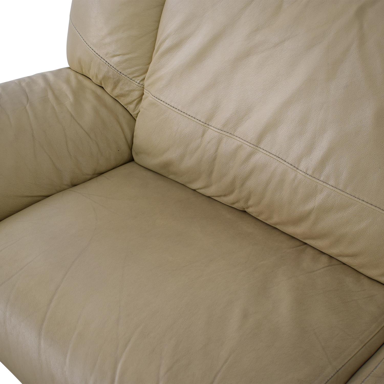Modern Two Cushion Sofa discount