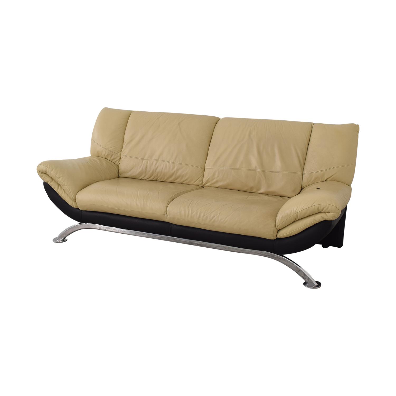 Modern Two Cushion Sofa on sale