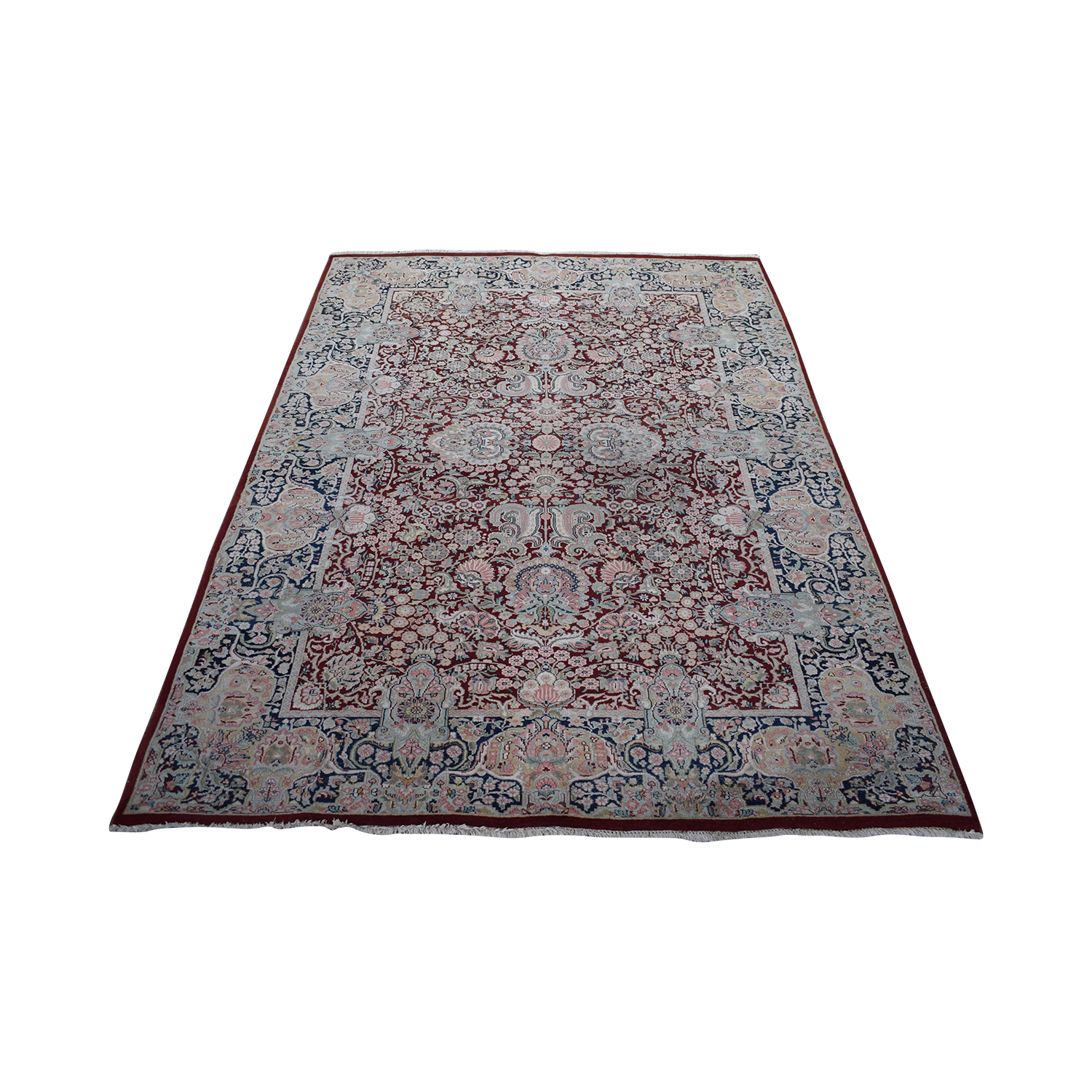 Pakistani Rug with Fringe coupon
