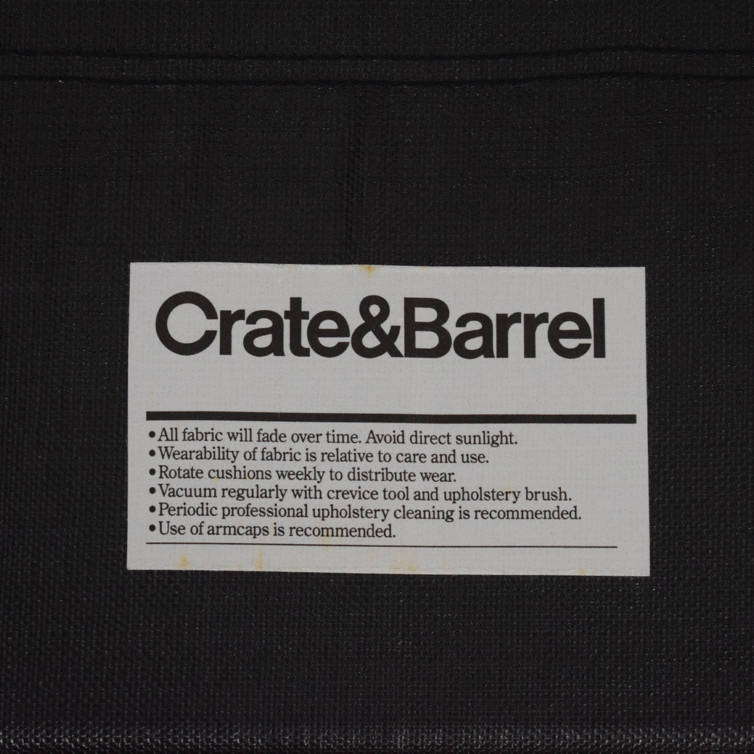 Crate & Barrel Crate & Barrel Rolled Arm Loveseat Twin Sleeper for sale