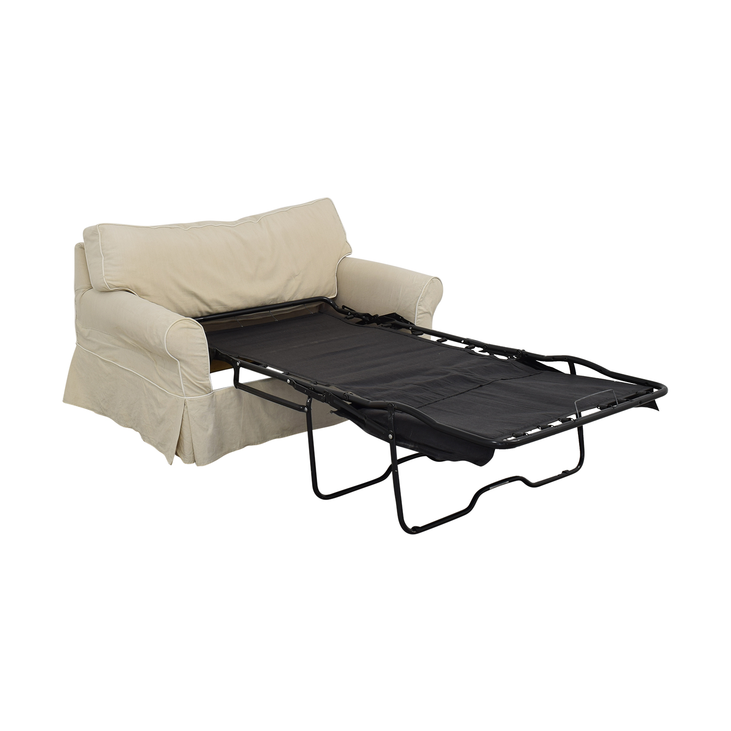 Crate & Barrel Crate & Barrel Rolled Arm Loveseat Twin Sleeper coupon