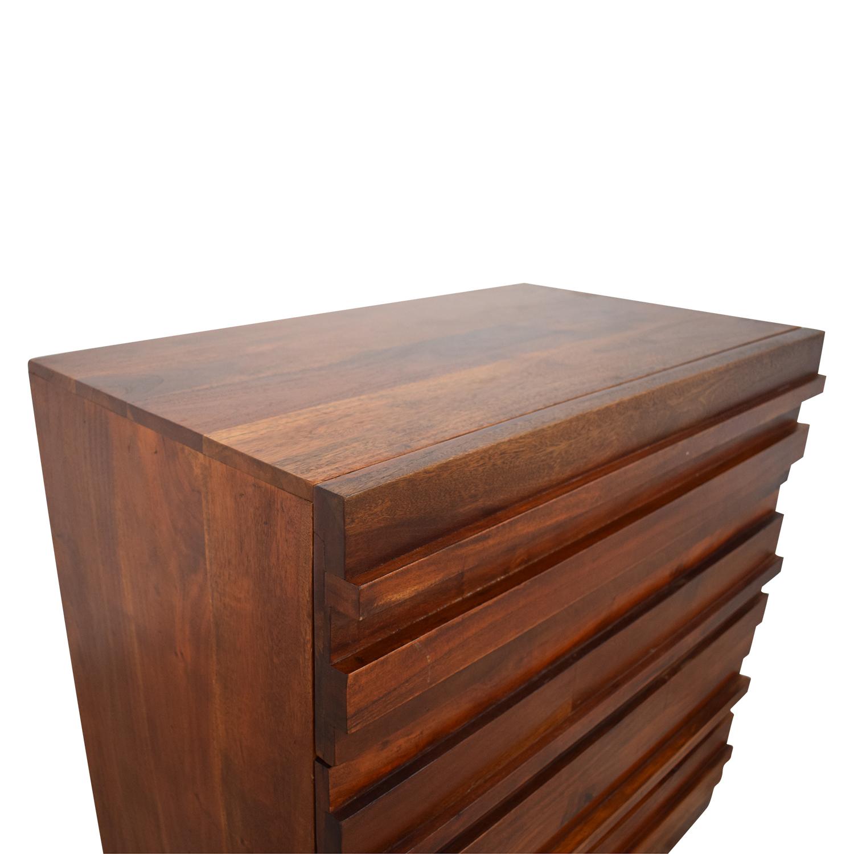 West Elm West Elm Stria Three Drawer Dresser Storage