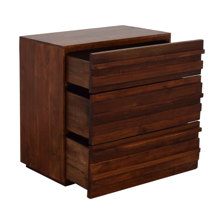 West Elm West Elm Stria Three Drawer Dresser dimensions