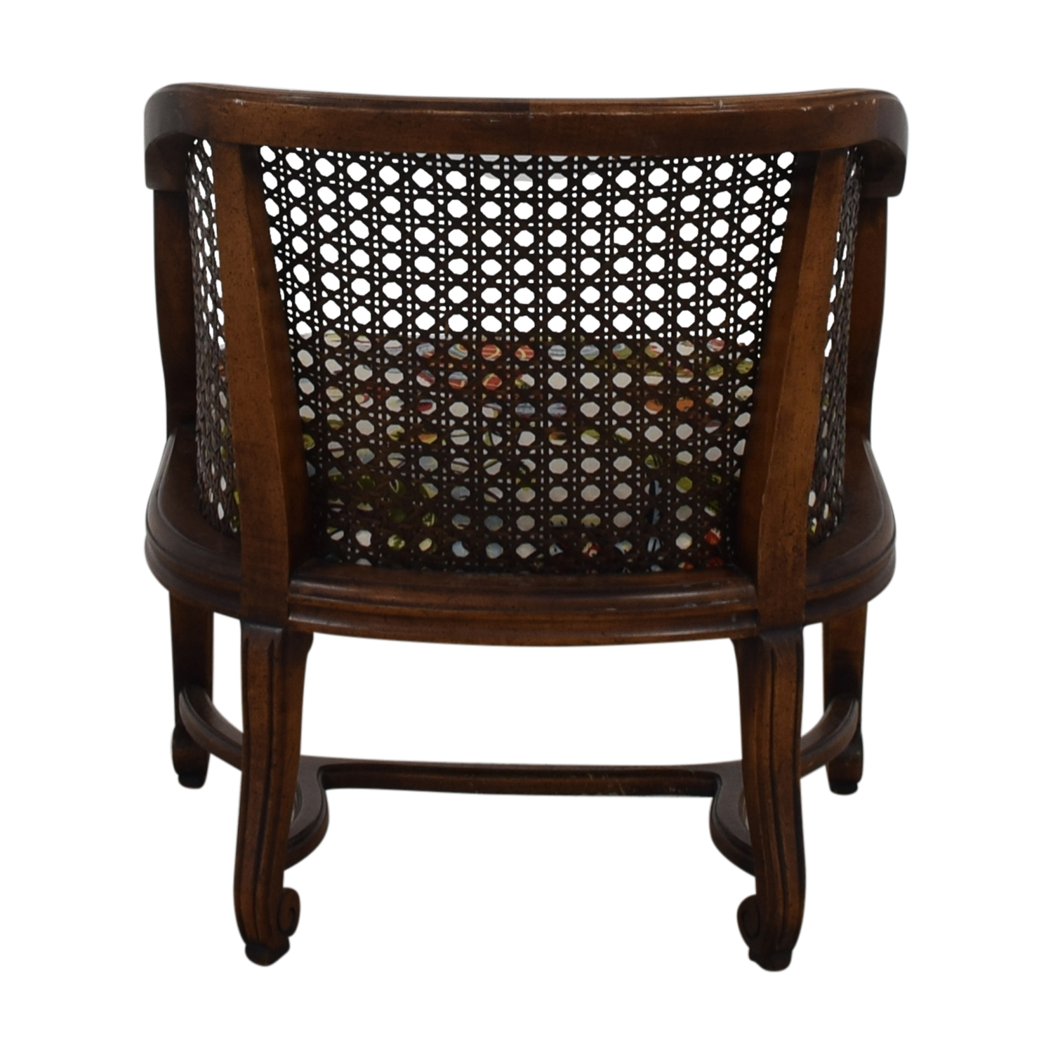buy  Heirloom Fruitwood Caned Armchair online