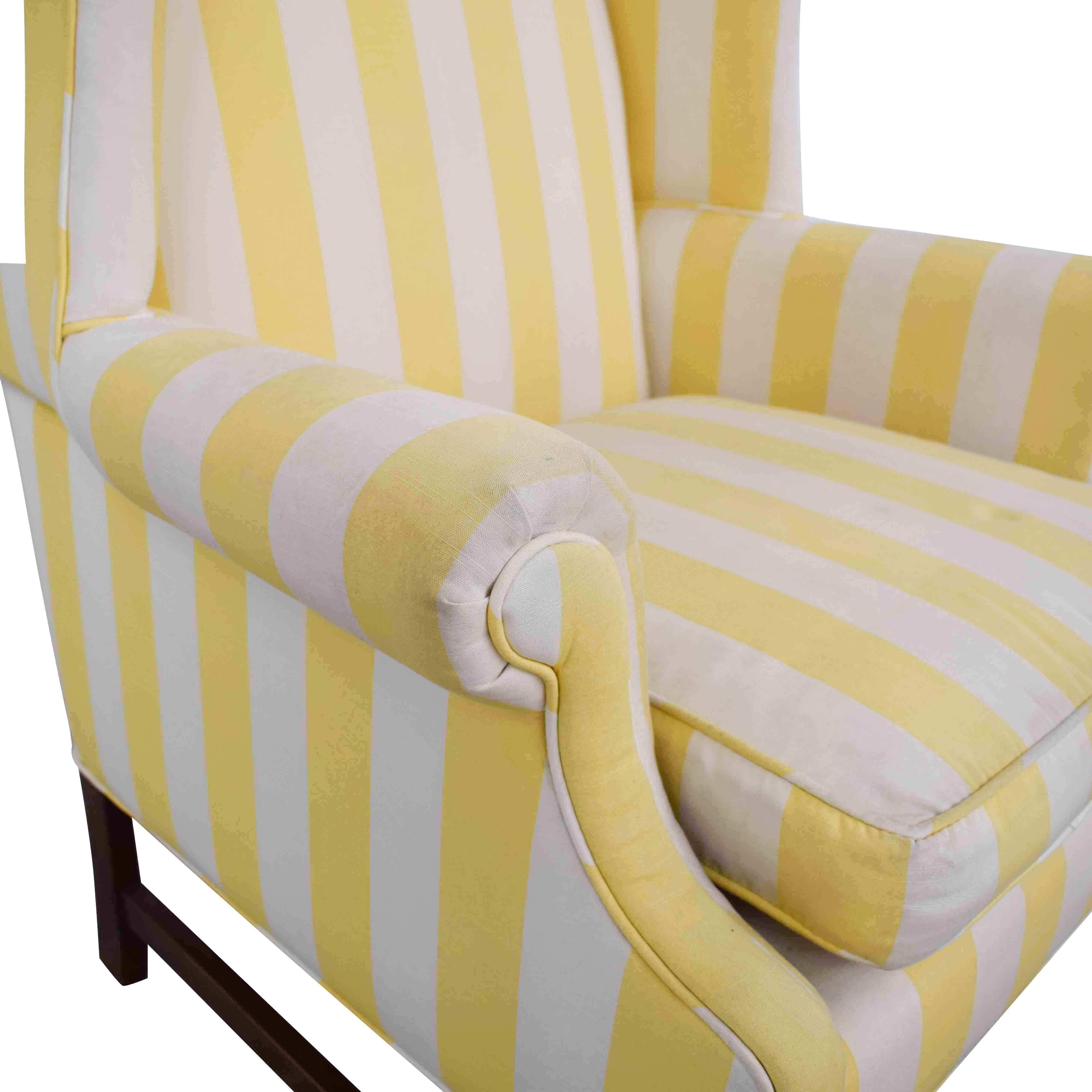 Chippendale Wing Armchair dimensions
