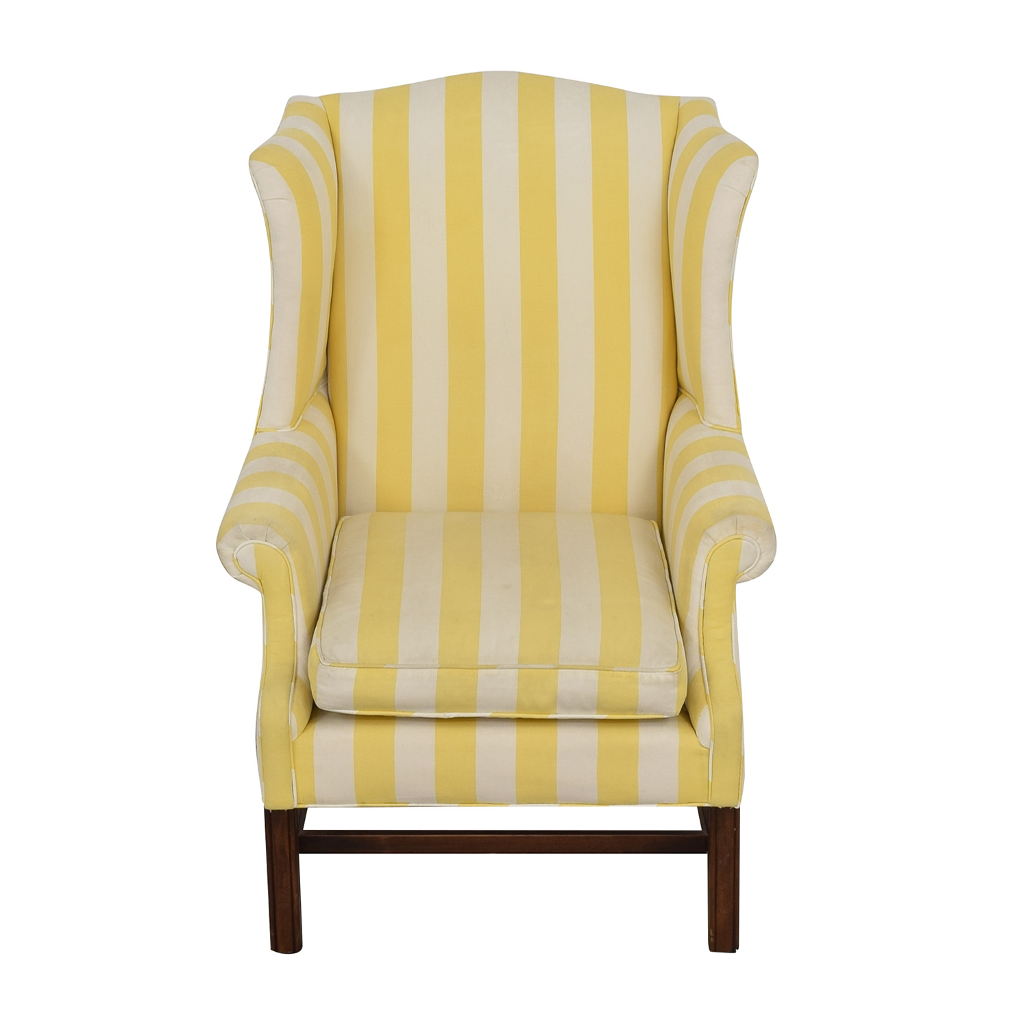 Chippendale Wing Armchair on sale