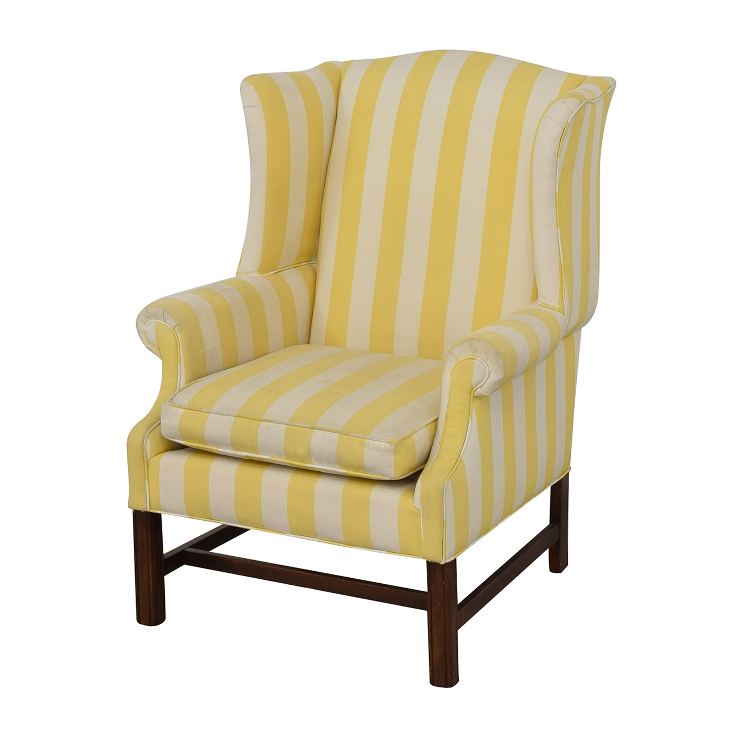 Chippendale Wing Armchair / Accent Chairs