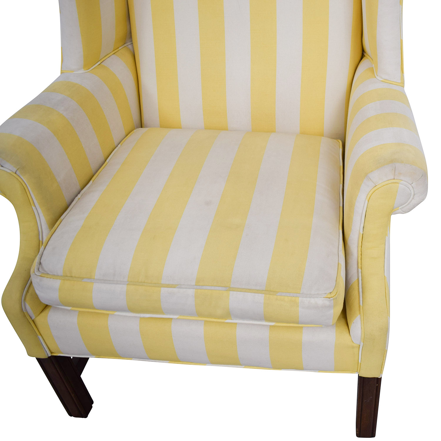 Chippendale Wing Armchair Accent Chairs