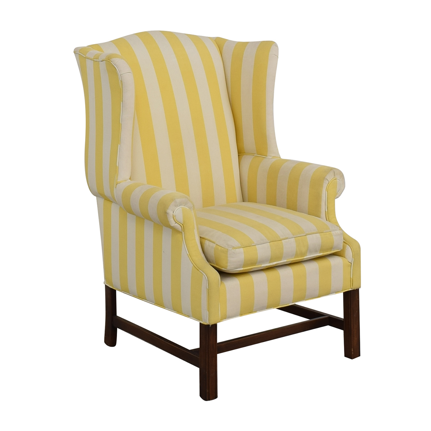 Chippendale Wing Armchair discount