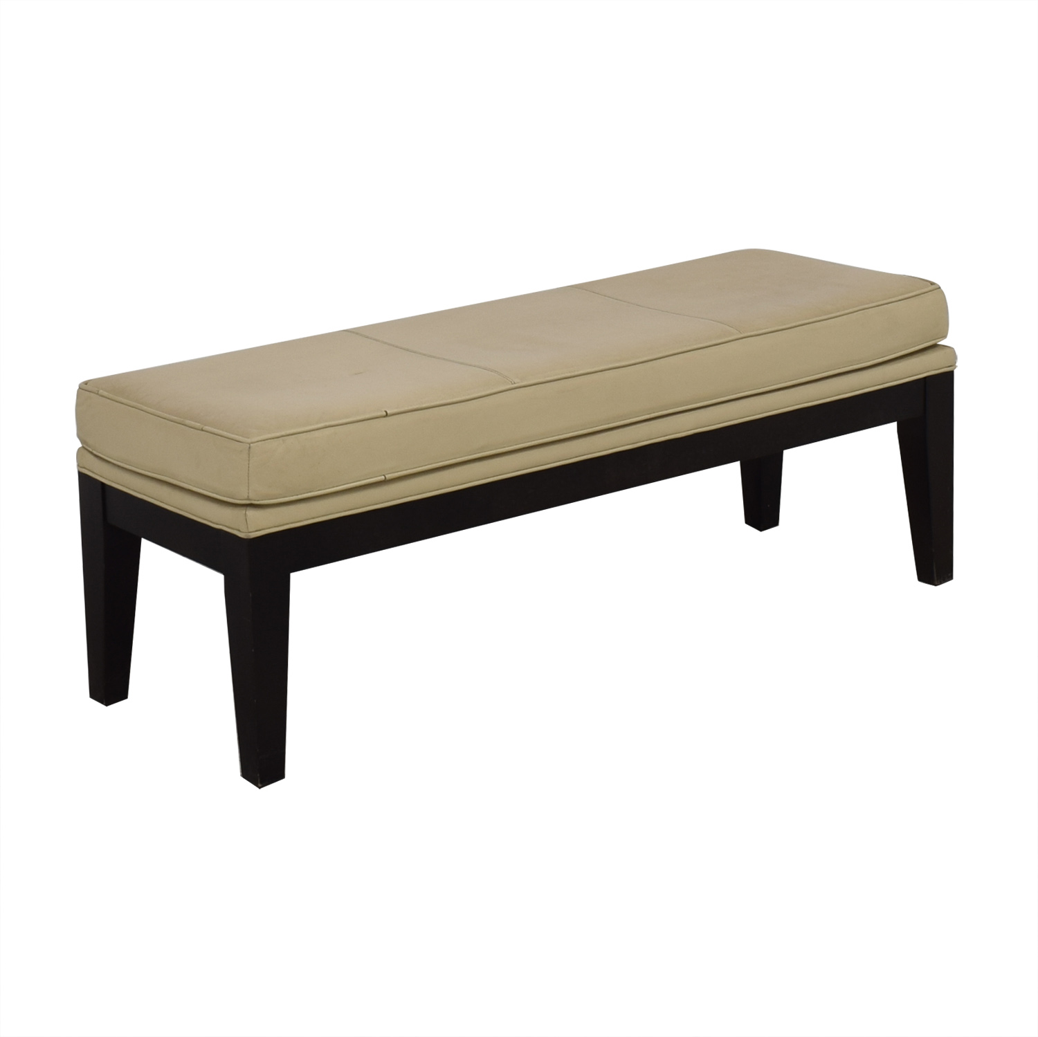 Neiman Marcus Neiman Marcus Upholstered Bench for sale