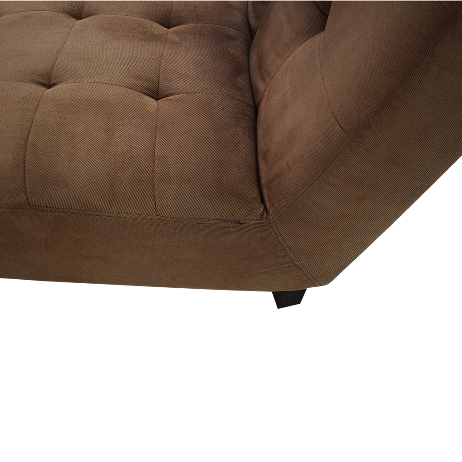 Macy's Macy's Arched Chaise Lounge Sofas