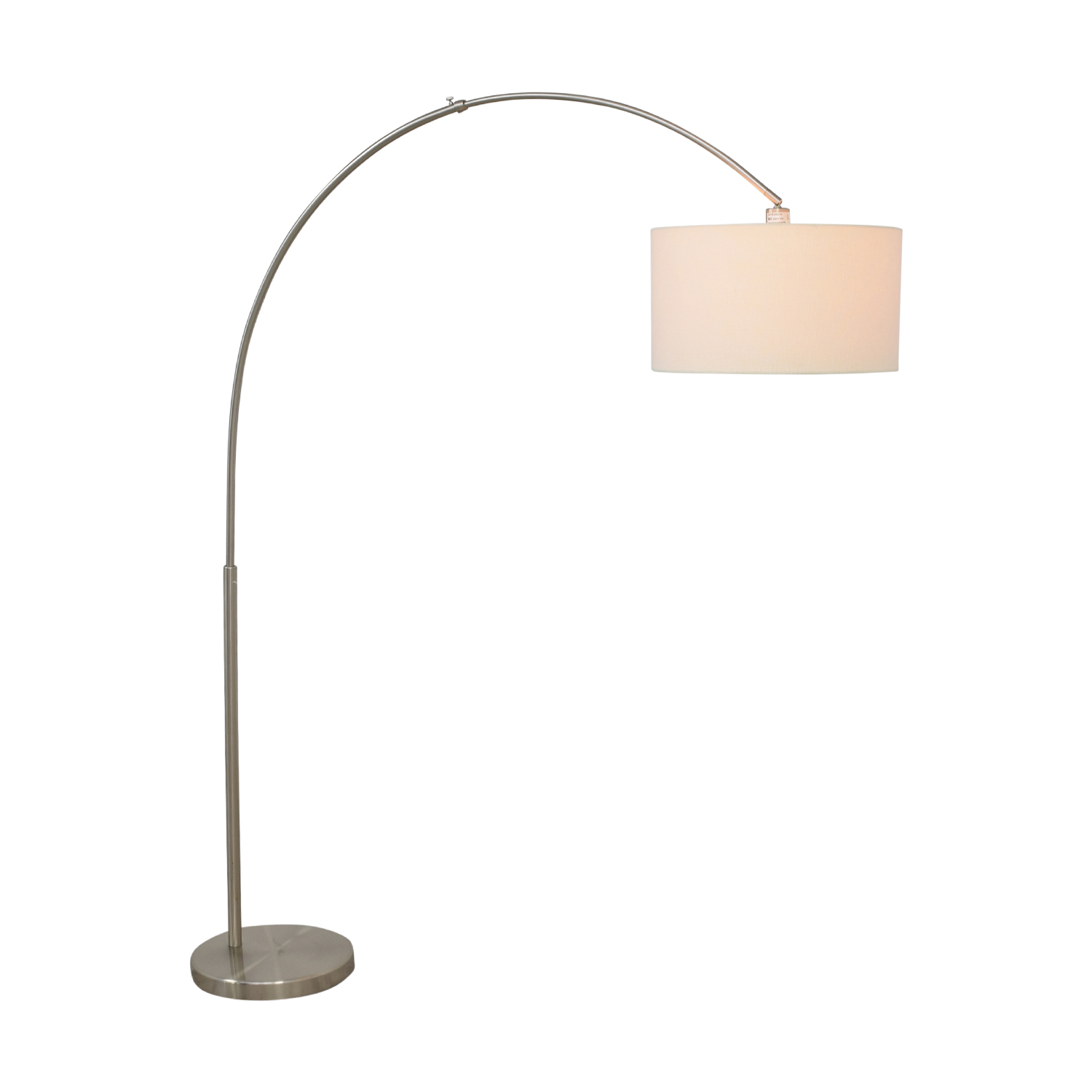 buy CB2 Big Dipper Arc Brushed-Nickel Floor Lamp CB2 Lamps