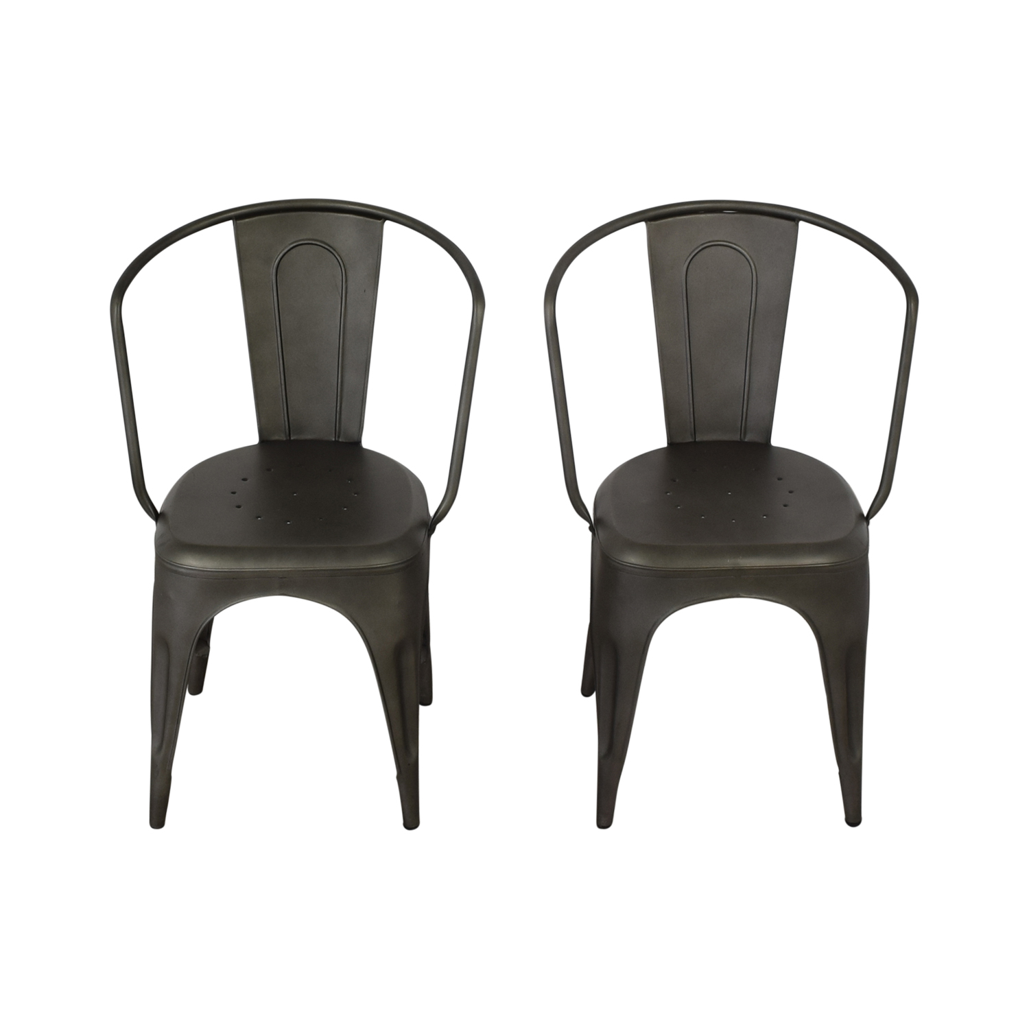 Restoration Hardware Restoration Hardware Marcel Armchairs Dining Chairs