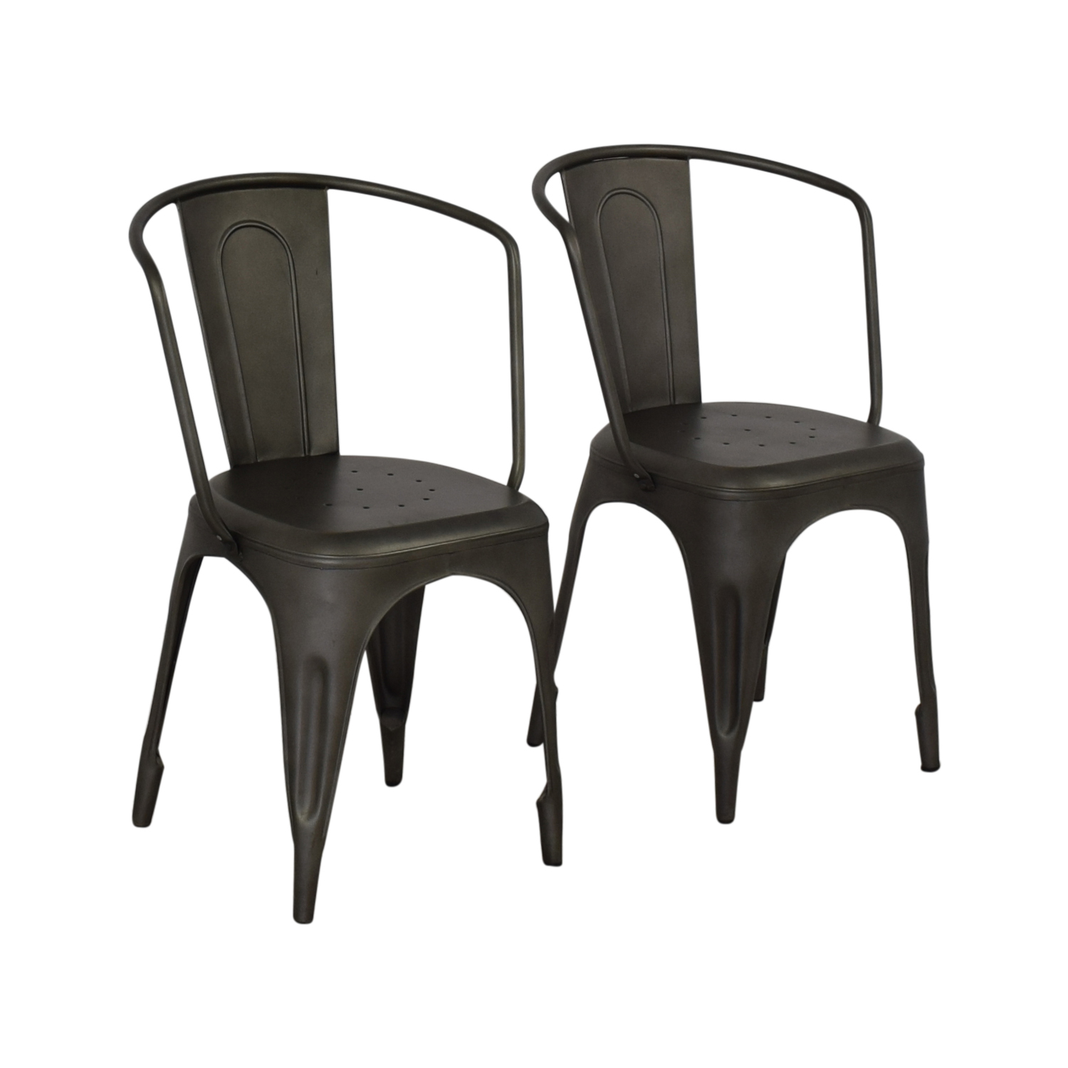Restoration Hardware Restoration Hardware Marcel Armchairs dimensions