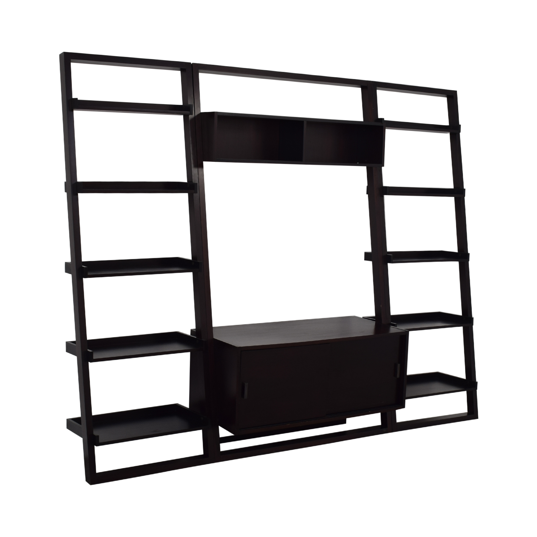 Crate & Barrel Crate & Barrel Sawyer Media Stand Storage