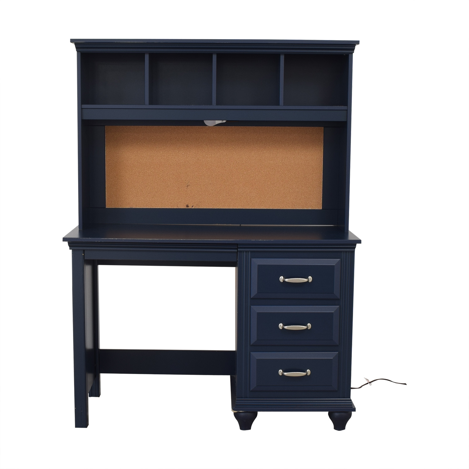 Wayfair Wayfair Desk with Hutch blue