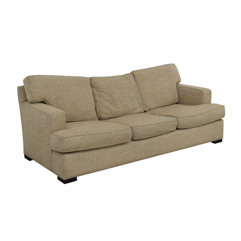 shop Arhaus Dune Three-Cushion Sofa Arhaus Sofas
