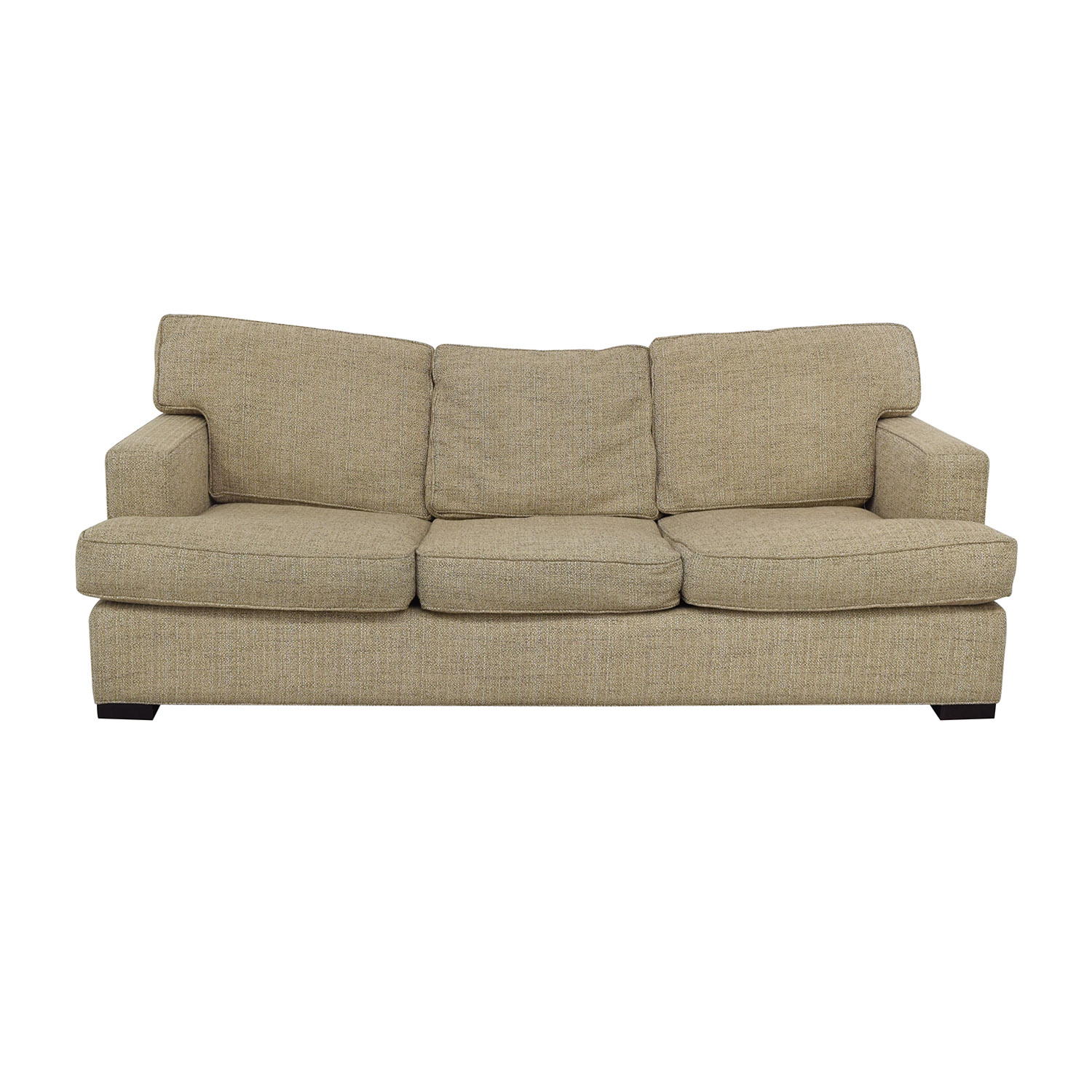 shop Arhaus Dune Three-Cushion Sofa Arhaus