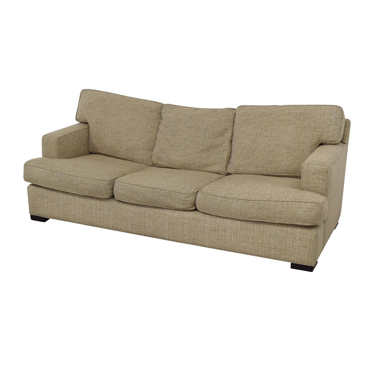 buy Arhaus Dune Three-Cushion Sofa Arhaus Classic Sofas