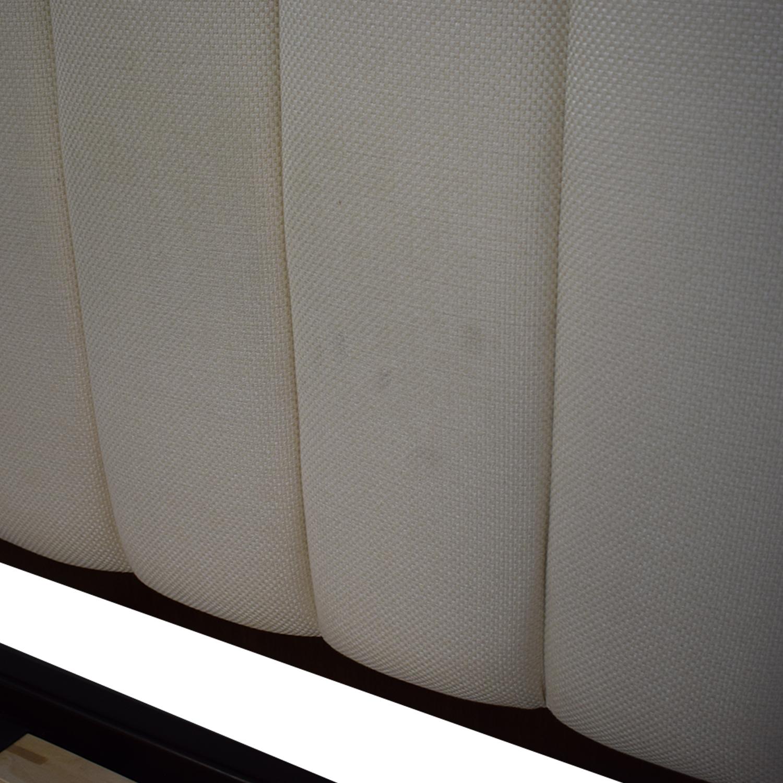 Bloomingdale's Solid Walnut Queen Bedframe / Bed Frames