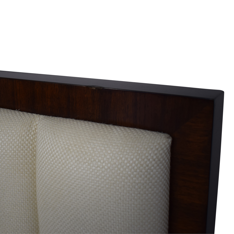 Bloomingdale's Solid Walnut Queen Bedframe / Beds