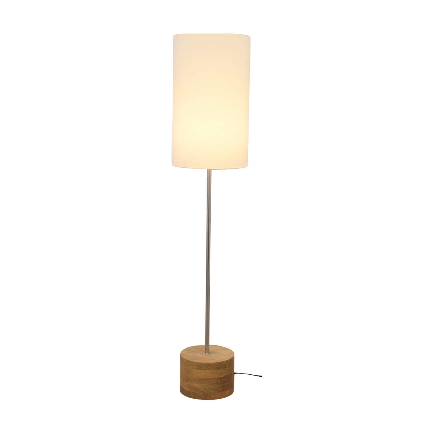 shop Crate & Barrel Tribeca Floor Lamp Crate & Barrel