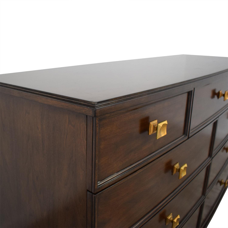 Stanley Furniture Stanley Furniture Core Dresser dark brown