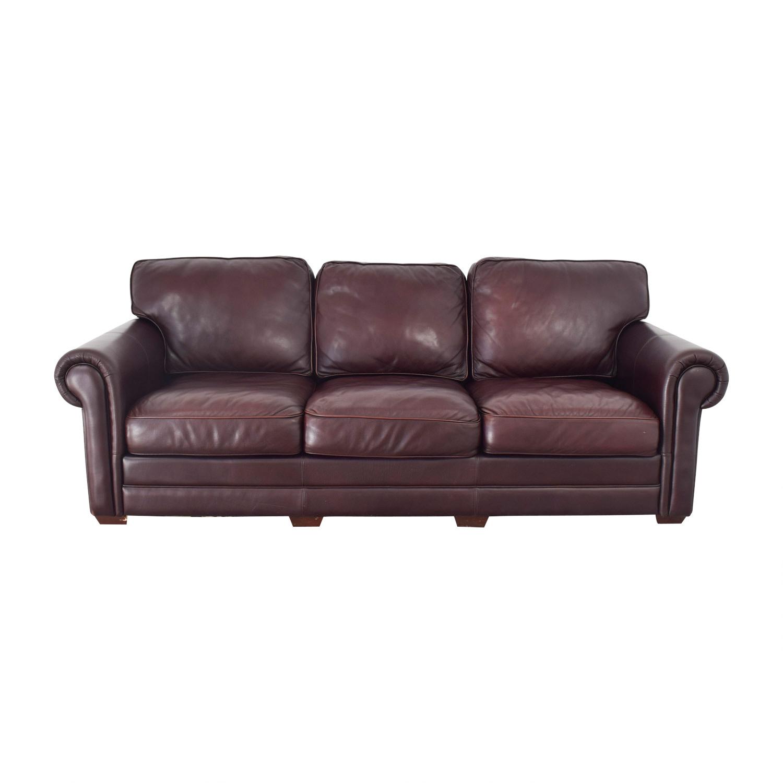 Legacy Classic Furniture Legacy Leather International Sofa dark brown