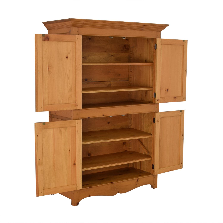 Custom Armoire Storage