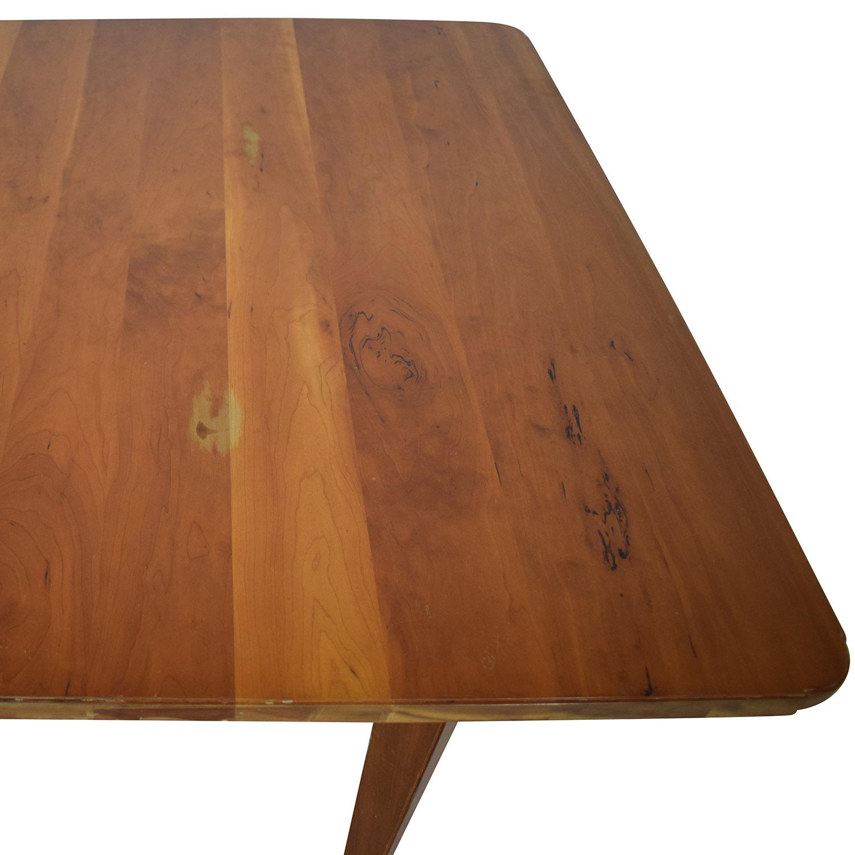 Scott Jordan Furniture Scott Jordan Extension Dining Table nj