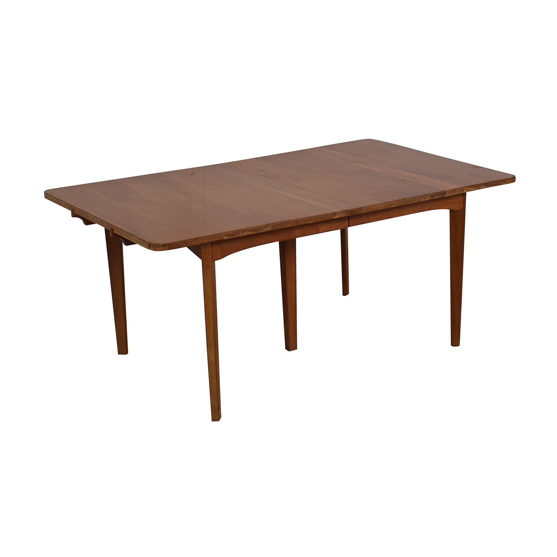Scott Jordan Furniture Scott Jordan Extension Dining Table dimensions
