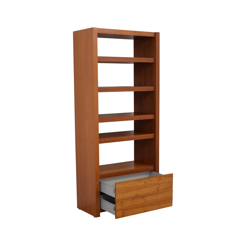 Door Store Door Store Bookcase with Drawer Bookcases & Shelving