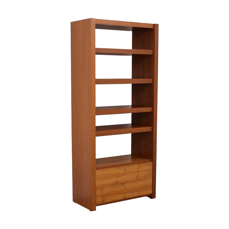 buy Door Store Bookcase with Drawer Door Store