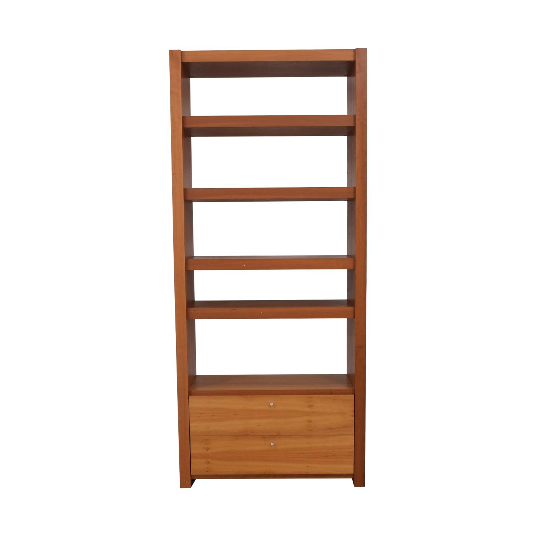 Door Store Door Store Bookcase with Drawer