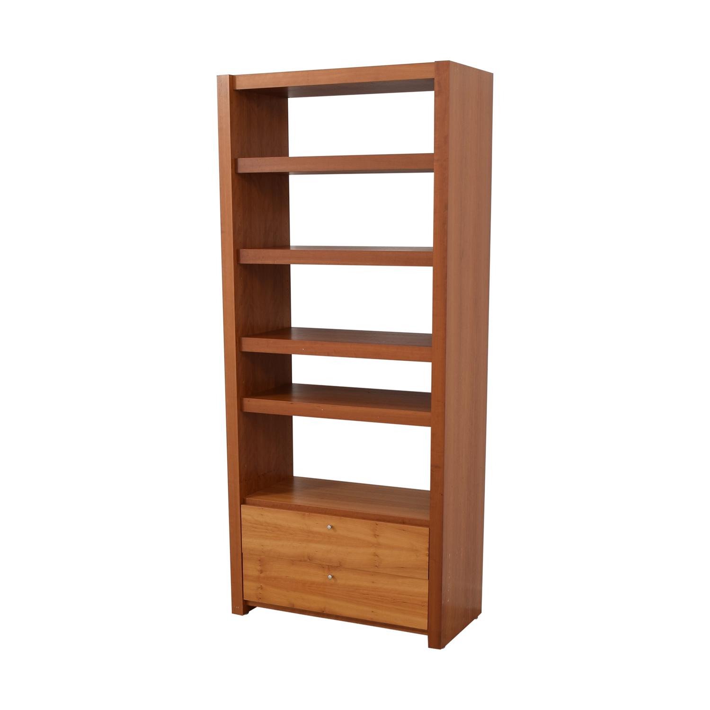 Door Store Bookcase with Drawer Door Store