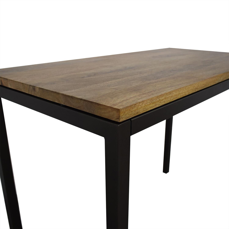 buy West Elm West Elm Box Frame Counter Table online