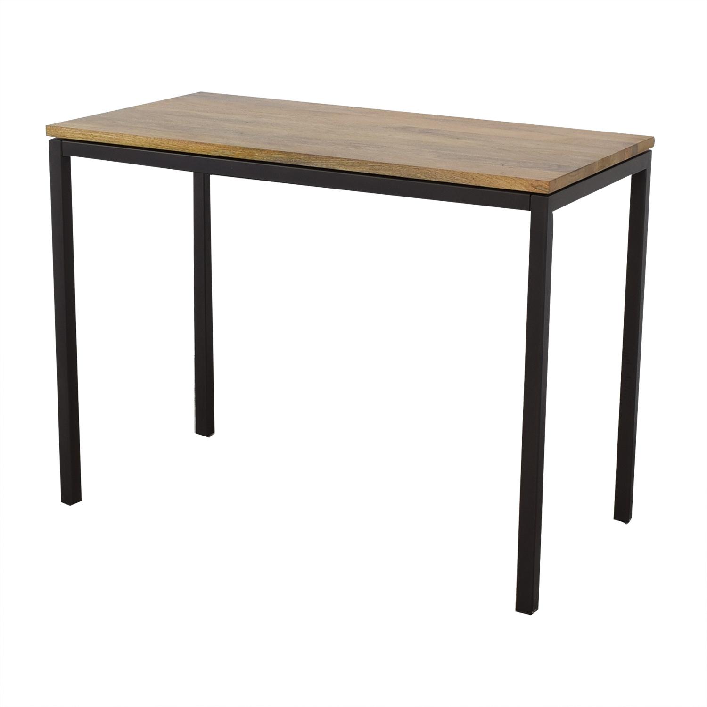 West Elm Box Frame Counter Table West Elm