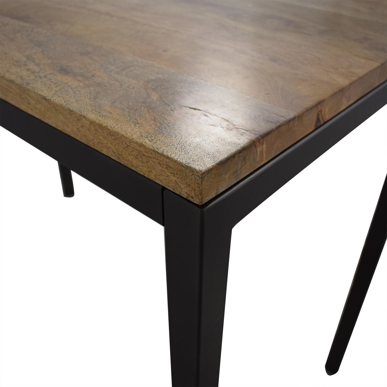 West Elm West Elm Box Frame Counter Table on sale