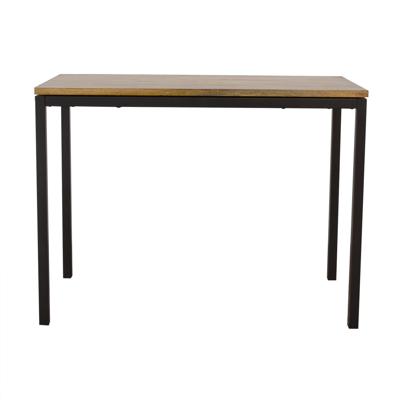 West Elm West Elm Box Frame Counter Table dimensions