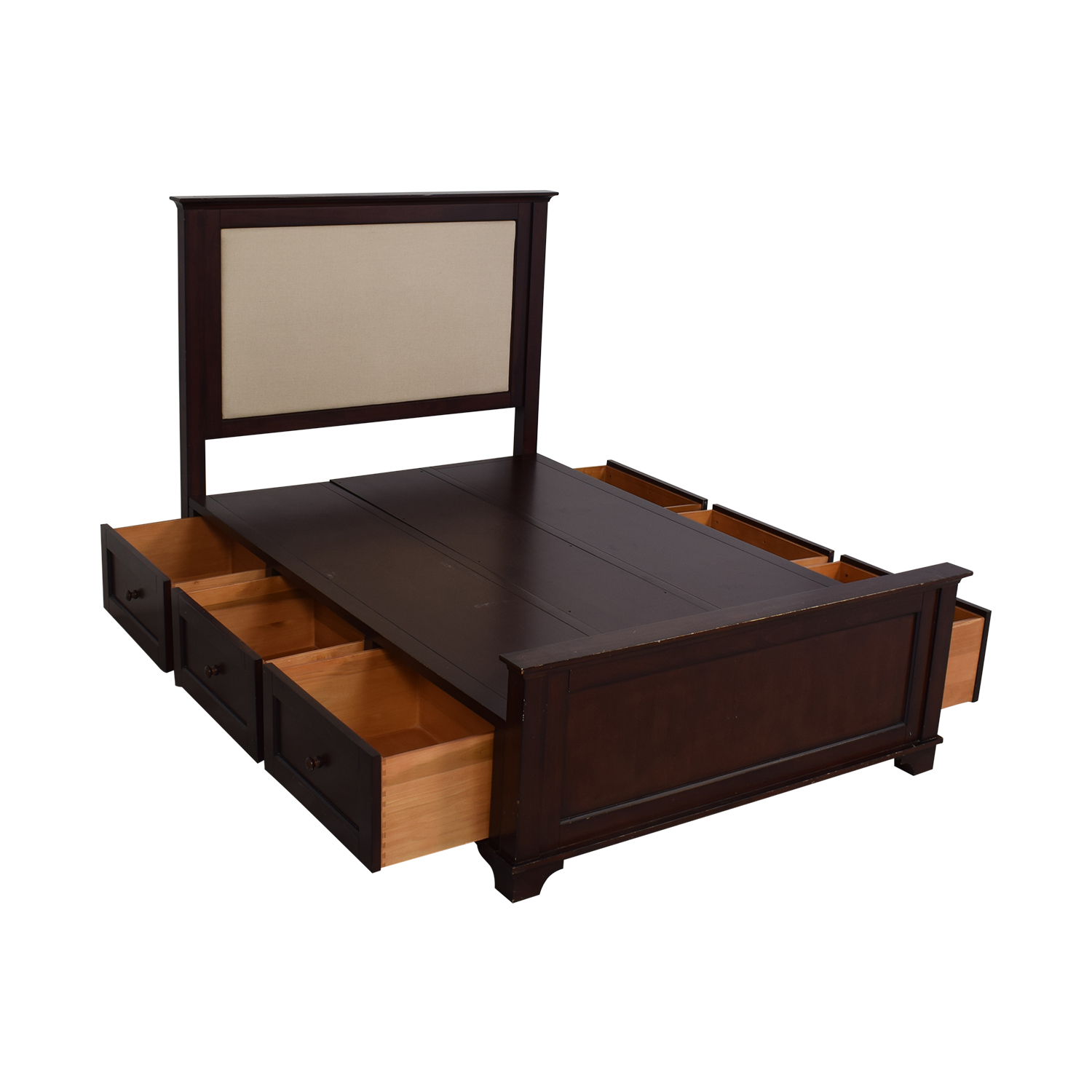 Pottery Barn Cynthia Storage Full Bed / Bed Frames